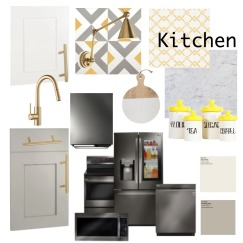 kitchen moodboard