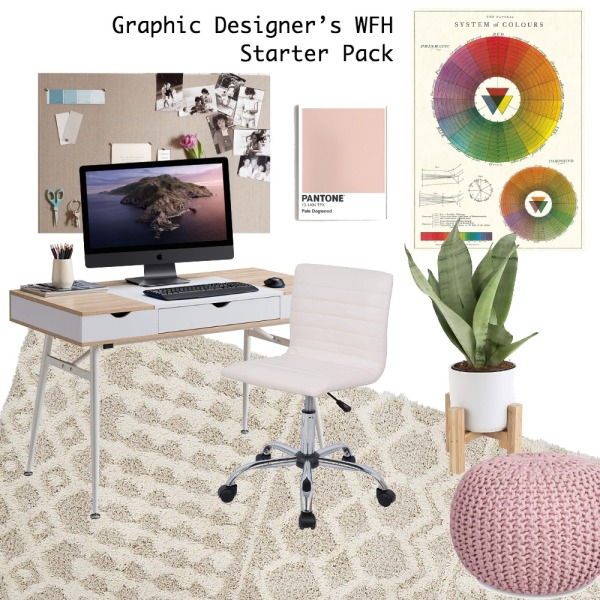 graphic designer work from home starter pack