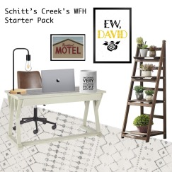 schitts creek wfh starter pack